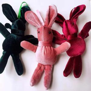 Factory direct sale wholesale 5-20 sets Wishing Bouquet rabbit doll Pendant Plush toys bouquet gift box Baby accessories bag