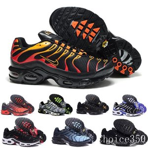 2019 Newest Men Zapatillas TN Designers Sneakers Chaussures Homme Men Basketball Shoes Mens Mercurial TN Running Shoes Eur40-46 YHSM