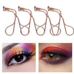 1 stücke Rose Gold Mini Professionelle Wimpern Curler Tragbare Wimpern Curling Falsche Wimpern Tweezer Kosmetik Schönheit Makeup Werkzeug