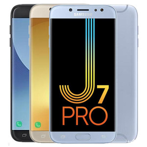 Recuperado Original Samsung Galaxy J7 Pro 2017 J730F 5,5 polegadas 10pcs Octa Núcleo 3GB RAM 32GB ROM 13MP 3600mAh 4G LTE Android entregas DHL