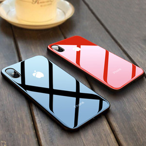 강화 유리 거울 휴대 전화 케이스 아이폰 (11) 11pro 11pro 최대 X XS XR XSMAX 10 8 7 아이폰 6 6S 7 8 플러스 고급 충격 방지 커버를 들어