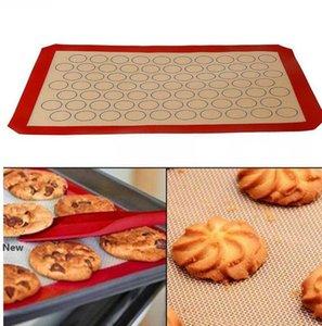 Macaron Силиконовые Мат кондитер торт миндальной печь для выпечки Плесени лист Mat 420 * 295 * 0.7mm кондитера торта лист KKA7799