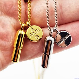 Ambush Necklaces 2020 Men Women Metal Ambush Chains Necklaces Two Colors Good Quality torque carve Letter