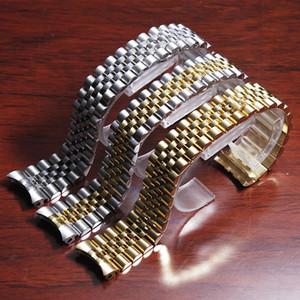 13mm 17mm 20mm massiv Edelstahl Jubilee Armband für Datejust 116233
