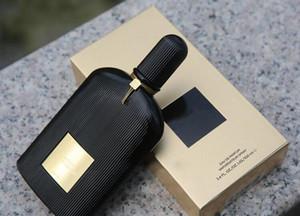 Uzun free alışveriş süren tatlı kokusu 100ml / adet Sıcak satış Erkekler Siyah Orkide parfüm