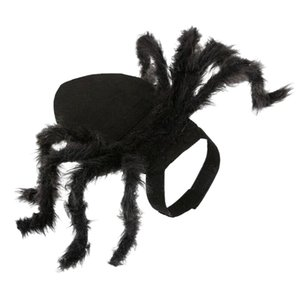Halloween Spider Pet Costume Cool Cosplay Clothes for Cat Dog Puppy Funny Party-Medium