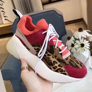 Perfekte Offizielle Qualitätsschuhe Designer neue Luxus Eclypse Stella Plattform Sneakers Mode Mccartney Damen Bequeme Schuhe c20 t16