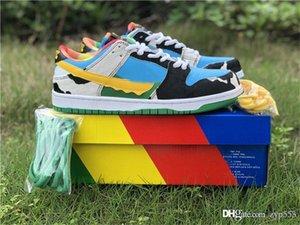 2020 Ben presse authentique Jerrys x SB Dunk Low Pro Chunky Dunky QS Si ce ne est pas amusant, pourquoi le faire? Hommes Femmes Chaussures de course CU3244-100 Sneakers