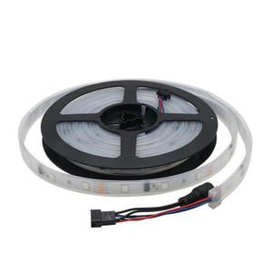 Led 스트립 빛 5m 12V IP67 튜브 방수 6803 IC 매직 꿈 컬러 유연한 스트립 30LED / m SMD 5050 조명