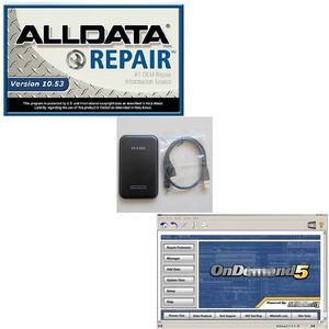 2019 Новые версии Auto Repair 2014 Mit Soft-Ware + Авто Ремонт Alldata V10.53 в 750G HDD Fit Win 7 XP Система автомобиля Ремонт мягкой посуды