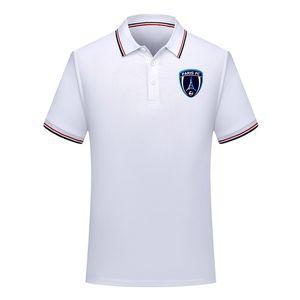 мужчины Париж ФК футбол Поло рубашка футбол с коротким рукавом поло рубашка летняя мода рубашка обучение рубашки поло спорт футбол Джерси мужские Поло