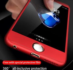 iphone 11 telefon kılıfı Sıcak satış 360 ° Herşey PC Sabit durumda Anti-drop Çarpışma önleyici koruyucu kapak Gönder Sertleştirilmiş filmi