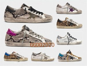 Italy Multicolor Heel Golden Superstar Gooses Sneakers Men Women Classic White Do-old Dirty Shoes Casual Shoes Size 35-45