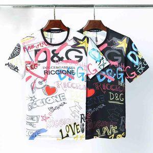 2020 nuovo Mens magliette di modo maglietta casuale Uomini Tees Tops Medusa floreale di stampa della lettera divertente T-shirt manica corta Magliette