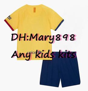 Qualquer jérsei conhecido Temporada crianças kits de futebol / custom e número / necessidade de contato do inquérito se há inventário