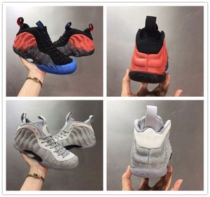 Little Posite One 3D Penny Hardaway spider Man Metallic Silver basketball shoes Pro Men Designer Athletic sneakers with box