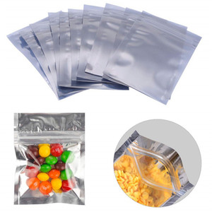 Resealable Zipper Bags Smell Proof Pouch Plastic Aluminum Foil Food Storage Bag Coffee Tea Bags Pouch