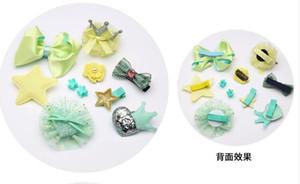 Opzioni Multi-Color clip Pet Accessori per capelli accessori del cane Teddy Than Orso capelli dell'arco Ten di trasporto
