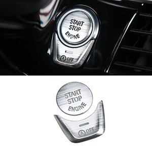 Car Accessories Alloy Central Control Media Button Trim Sticker Cover Frame Interior Decoration for BMW 5 Series G30 2017-2020