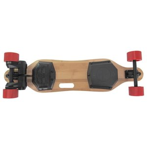 JKING H2B Riementrieb Longboard elektrisches Skateboard 8.8Ah Batterie Max 28km H mit Fernbedienung - Schwarz