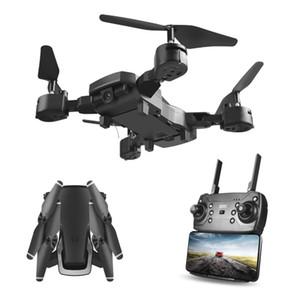 Plegable UAV HD Amplio Ángulo de cámara aérea Fotografía Wifi 1080P cuatro ejes de control remoto aviones no tripulados Quadcopter aviones no tripulados de juguete con la cámara