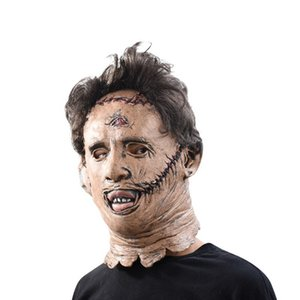 Halloween Horror маска Tricky костюм Prop партия одеваются Latex Headgear Бар Танцевальная Маска Маскарад Masque 2019 Ужас Ужас M
