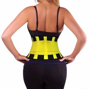 Rejilla 500pcs New Trainer cintura cinturón lumbar eléctrico gimnasia Accesorios Deportes Hombres Mujeres original Power Fitness Cinturón de 7 colores envío rápido