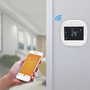 WIFI Termostat Su / Elektrikli Yerden Isıtma Termoregülatöre Su / Gaz Kazanı Sıcaklık Kontrol Alexa ile Çalışır