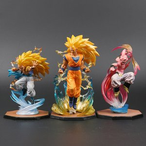 Majin Buu Goku Gotenks Pvc Actionfiguren Tamashii Nations S.h. Figuarts Zero Super Saiyan Collection Modell Dragon Ball Z Spielzeug J190507