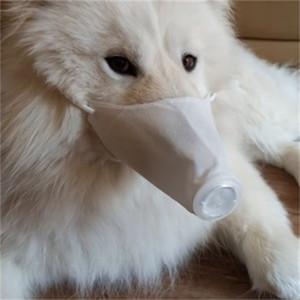 Los respiradores de seguridad admiten perrito máscara de respiración por la boca del perro anti polvo protectora de la cara Máscara Perros Mascherine venta caliente 8al2 H1