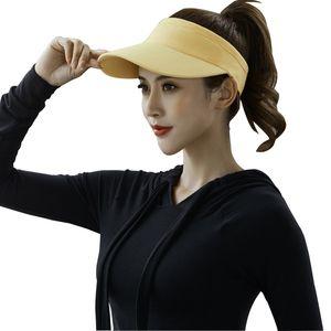 30 pieces per lot Newest Product Custom fashional Summer Cotton Visor Cap Multicolor Adults sports caps for women