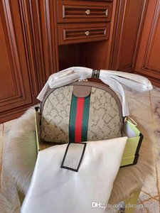 New 2.020 contratados e moda lona impressão de um ombro corrente gasta Conch Female Bag Lady Handbag de couro genuíno de luxo Handbag