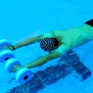 2ST EVA Wasser Wassersport Fitness Hantel Schwimmbad Aerobic-Übungs-Trainings Medium Aquatic Barbell Fitnesstraining