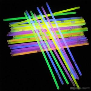 Çok Renkli Sıcak Glow Stick Bilezik Salkım Parti Yanıp sönen Işık Çubuk Yenilik Oyuncak Konseri Yanıp sönen Işık Çubuk Yenilik Oyuncak