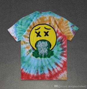 Manica corta Mens estate Designer Stampato maglietta Travis Scott Astroworld SICKO Moda girocollo maglietta Homme Abbigliamento