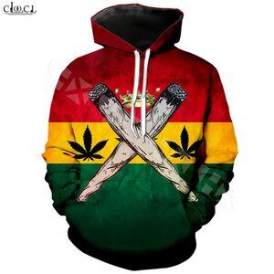 Reggae Oluşturan Bob Marley Hoodie Erkekler Kadınlar 3D Kazak Moda Kapşonlu Coat Casual Streetwear Kazaklar yazdır