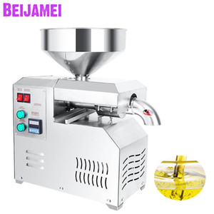 BEIJAMEI Automatic commercial Oil Pressers extraction machine Flaxseed Okra seed Hemp seed Almond oil press Maker