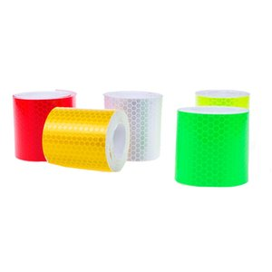 Tape Reflective Stickers DIY Wheel Bicycle Strips Safety Decoration Accessories Warning PVC Dust Proof Car Adhesive