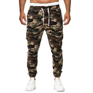 SAGACE Men's camouflage pants men's sportswear jogging pants mens sports leggings training pants gym men's running trouser A1118 T200326