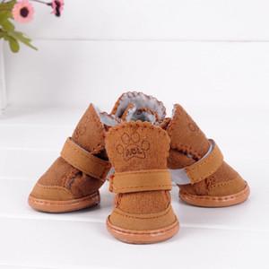 Scarpe classiche per cani gatti Inverno Piccolo Cane antiscivolo Boots Yorkshire Snow Boots Chihuahua fornisce prodotti per animali domestici