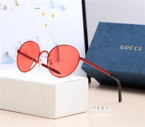 New Fashion Designer Occhiali da sole Flat Myopia Mirror Occhiali da sole di lusso per uomo Donna Occhiali Occhiali leggeri Modello di alta qualità 0222 con scatola