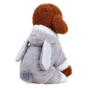 Dog Clothes for Chihuahua Pet Costume Puppy Hoodies Rabbit Dog Coat Jacket Rabbit Pajamas Clothes Ropa de Cachorro