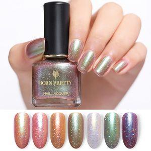 Caméléon JOLIE BORN Vernis à ongles Glitter 6ml Galaxy Caméléon Série Long Lasting Nail Art manucure 7 couleurs