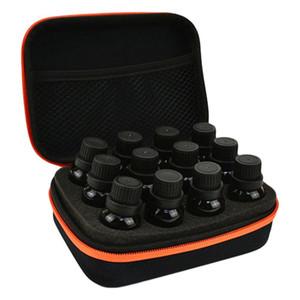 المحمولة 12 فتحة EVA الأساسية زجاجة تخزين النفط حقيبة الرمز حامي القضية الحقيبة ماكياج زجاجة تخزين مستحضرات التجميل