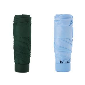 Xiaomi parapluie youpin 50% fold super court Parapluies de protection solaire protable Ultraléger de pluie Parapluies imperméable coupe-vent 3007719A5