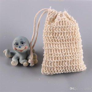 Хлопок белье мыла сетки сумки туалет мыло ручной работы пенящаяся сетка сумка для хранения натуральных растительных волокон мешок творческий 1 8nn L1