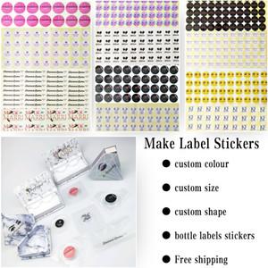 Logotipo de encargo privado de tarjetas de felicitación de su etiqueta (Usado para Pretty pestañas 3D Natural y 5D 25mm Mink pestañas falsas pestañas envío de la gota