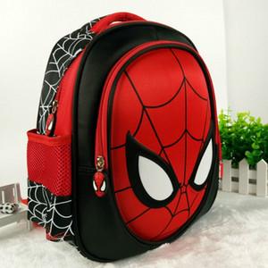 Nueva Cool 3D Spiderman Cartoon Schoolbag High Quality Kids Student 13 pulgadas Mochila infantil Kindergarten Boy Bag Envío gratis Y190601