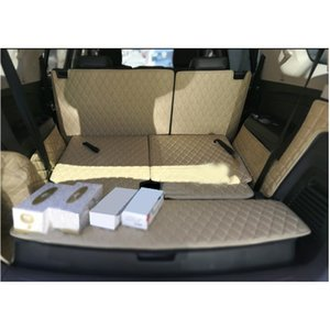 lsrtw2017 leather car trunk mat cargo for Trailblazer holden colorado 7 2012-2019 2014 carpet interior accessories rug