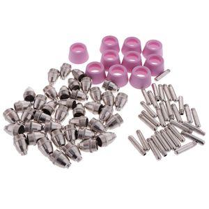 80 шт SG55 / AG60 50А / 60А Plasma Cutter Torch Расходные материалы Аксессуары